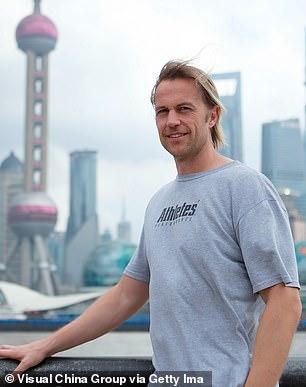 Ian Walker works in Shanghai now
