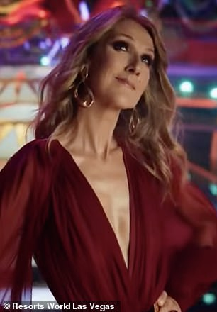 What if?:Zedd and Tiesto have already booked residencies at the hotel which opens on the Strip in June - so the ad may be a hint that Celine (pictured), Katy and Luke are joining in