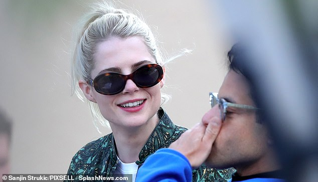 Rumours:Rami finally publicly addressed their relationship in January 2019, when he thanked his 'ally and love' Lucy at the Palm Springs International Film Festival