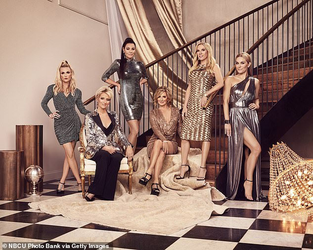 """`` It was good, '' she said of her first season without filming RHONY.  """"We were at COVID so I didn't really feel like I missed anything."""
