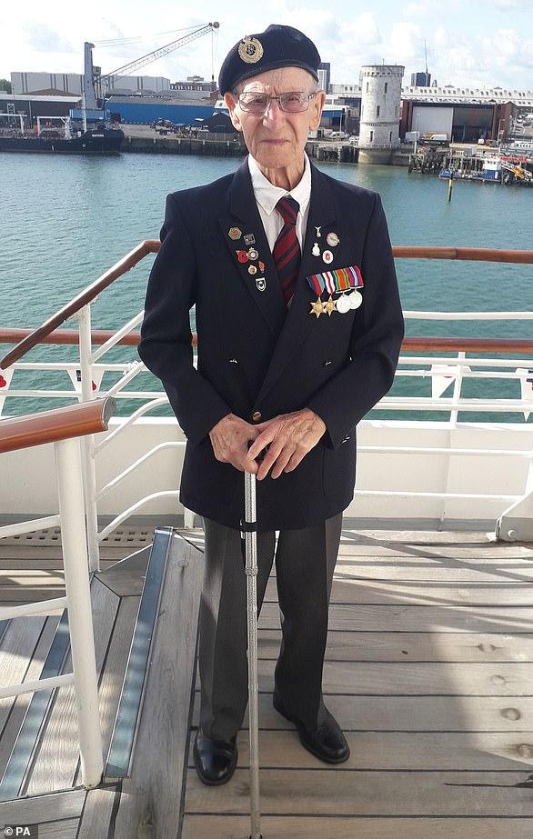 D-Day veteran Albert Lilly