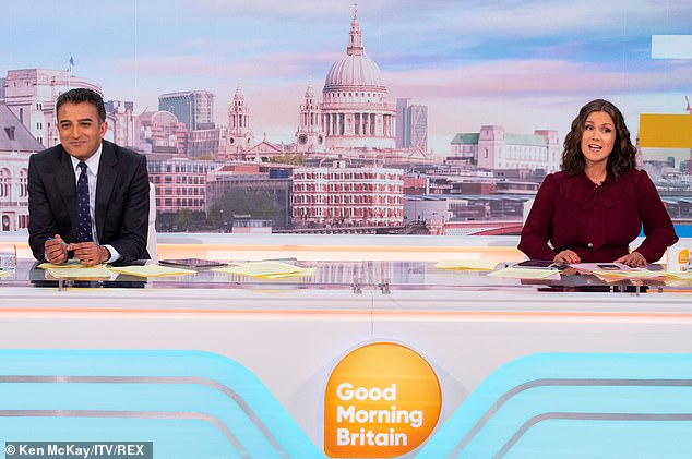 Dropping: Since Piers' exit, GMB has seen a drop in ratings, with Susanna Reid appearing alongside rotating guest hosts while bosses search for a permenant replacement