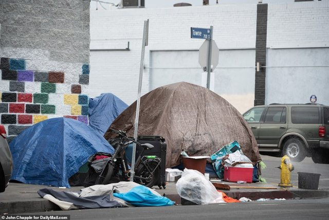 At last estimate, there are around 4,600 people who are homeless and living in the area of Los Angeles