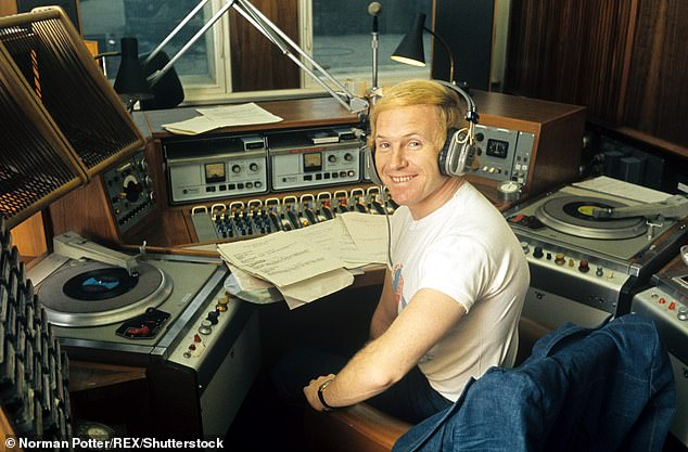 Hamilton, pictured in 1973, has been on air since 1959, when Harold Macmillan was prime minister and Cliff Richard was recording Living Doll for the first time