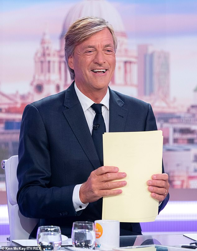 New role: Bosses will reportedly test out Richard with a guest stint this summer, with the presenter having had several stints filling in for Piers in the past (pictured in 2019)