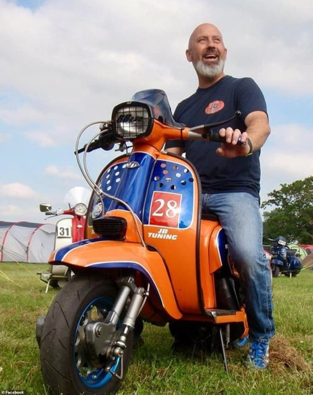 Matthew 'Tik' Tester, a scaffolding company boss and moped enthusiast, has been named locally as the victim of the attack, which sparked a huge response from police and ambulance crews in Walton-on-Thames yesterday afternoon