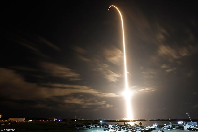 The Falcon 9 rocket that flew Crew-1 was used, along with the Crew Dragon Capsule Endeavour that housed Bob Behnken and Doug Hurley in May 2020