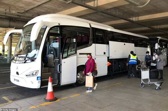 From 4am this morning, passengers landing in the UK from India are now required to stay in isolation at government-approved hotels for ten days. They were taken from Heathrow to quarantine hotels