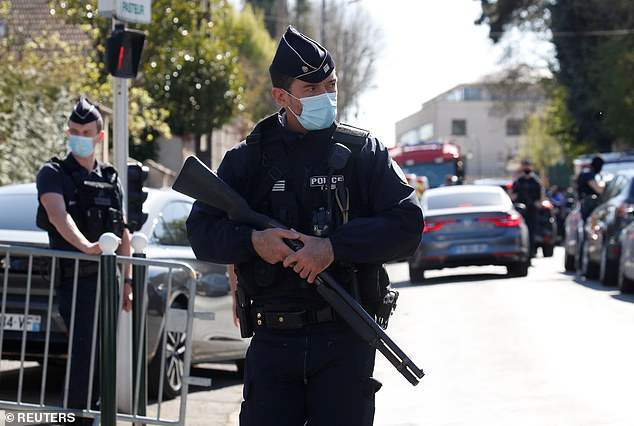 The attacker was not previously known to police or anti-terrorist authorities and had recently moved to Rambouillet having previously lived in the Val-de-Marne