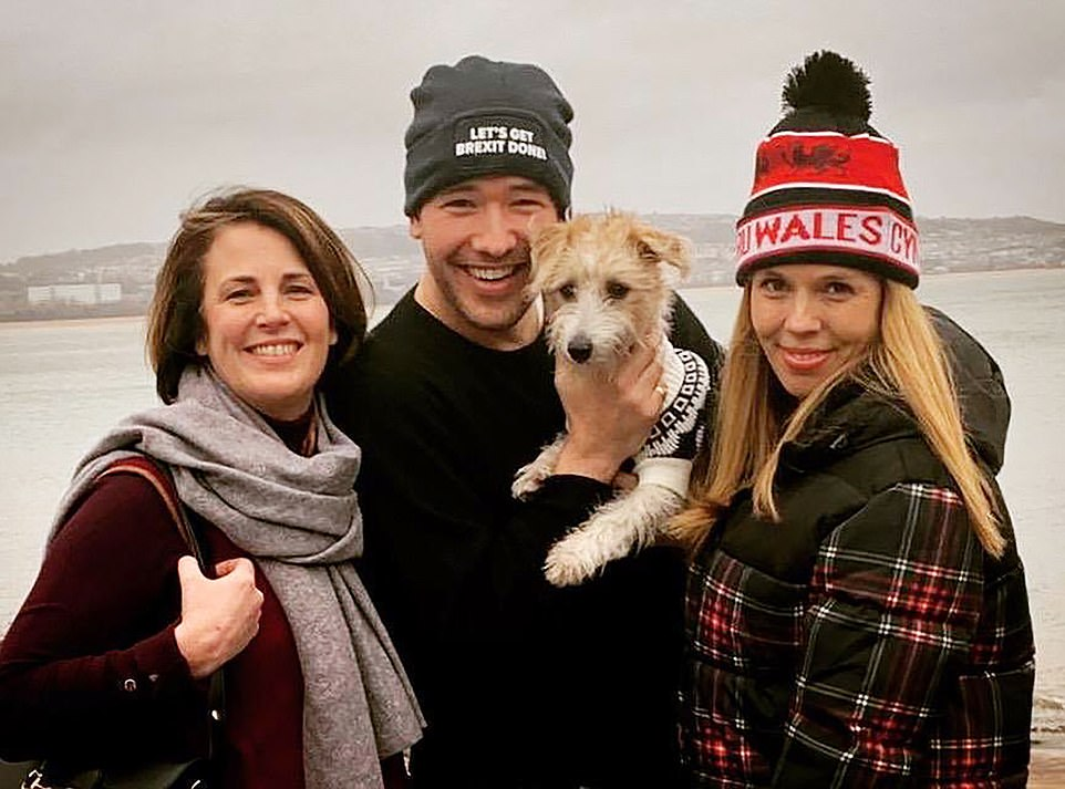 In an astonishing attack on the Prime Minister Mr Cummings accused him of considering killing off a leak inquiry last November because the evidence pointed at Henry Newman (centre), a friend of his fiancee Carrie Symonds (right). Mr Newman has denied being the source of the leak.