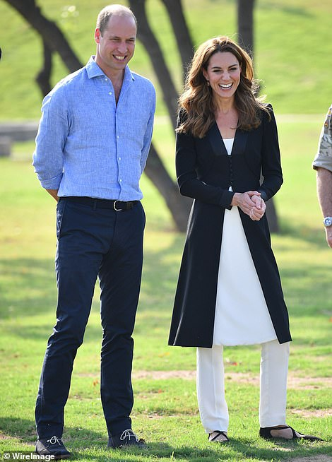 The Duke and Duchess of Cambridge celebrate their tenth anniversary next week — presumably exchanging tokens of tin