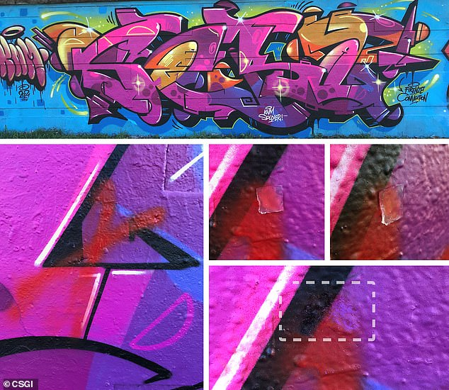 Researchers at the University of Florence have developed an environmentally friendly solvent that can remove an overcoating of graffiti while preserving the art underneath.
