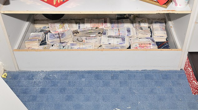 Information from Mr X led to the seizure of this large amount of cash in South Hetton