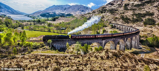 Magical experience: The Jacobite crossing the Glenfinnan Viaduct