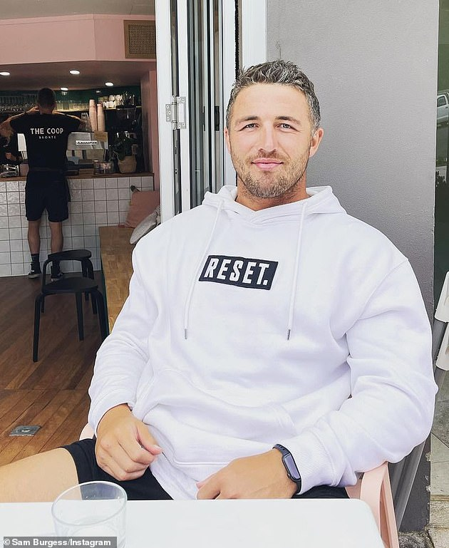 Challenge: Manu will join the likes of troubled NRL star Sam Burgess (pictured), socialite Brynne Edelsten and ironman Jett Kenny as they undertake a series of physical and psychological tests from an elite team of former Special Forces soldiers