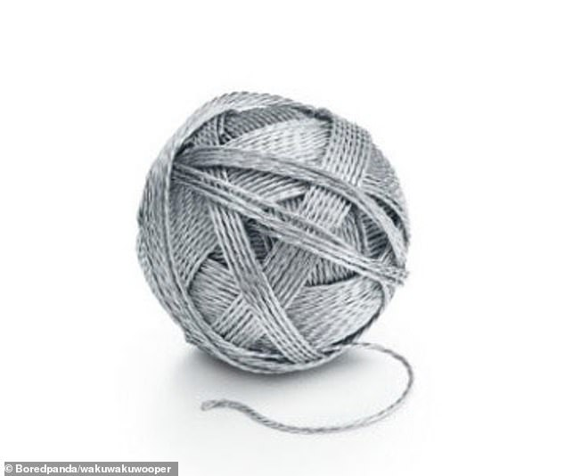 Elsewhere, one shopper, fromBuffalo, New York, was left stunned that 'someone actually f*****g bought' a sterling silver ball of yarn costing $9,500 from Tiffany's