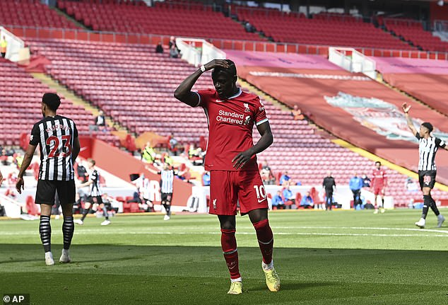 Michael Owen hit out at the lack of composure from Liverpool stars Sadio Mane and Mo Salah