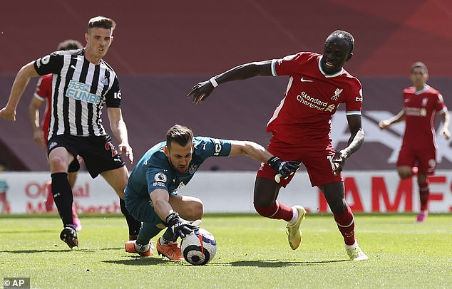 Mane was also guilty of misfiring at key moments as his poor campaign for the Reds continues