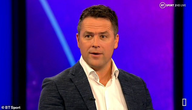 Owen (pictured) insisted fallen champions Liverpool can't 'hang their hat' on Salah and Mane