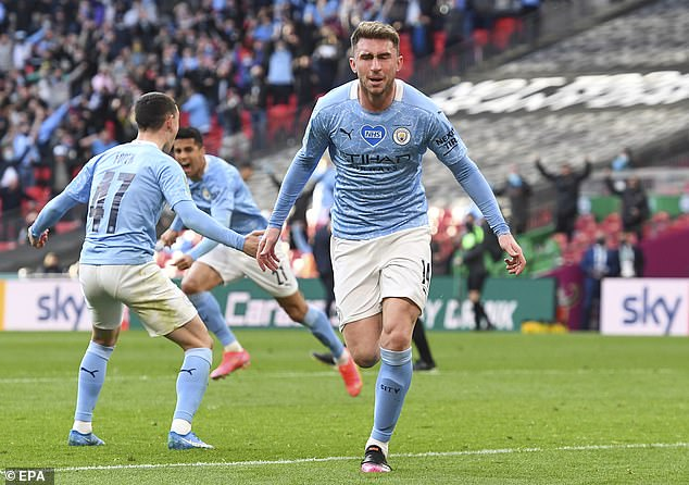 Aymeric Laporte scored the only goal of the game with eight minutes of normal time remaining