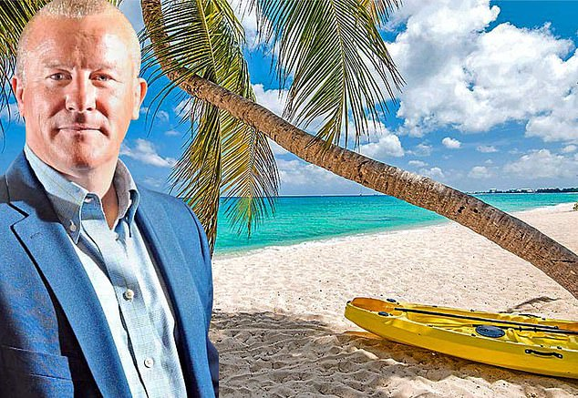Life's a beach:Neil Woodfordis said to have registered WCM Partners Healthcare on April 16 in the Caymans