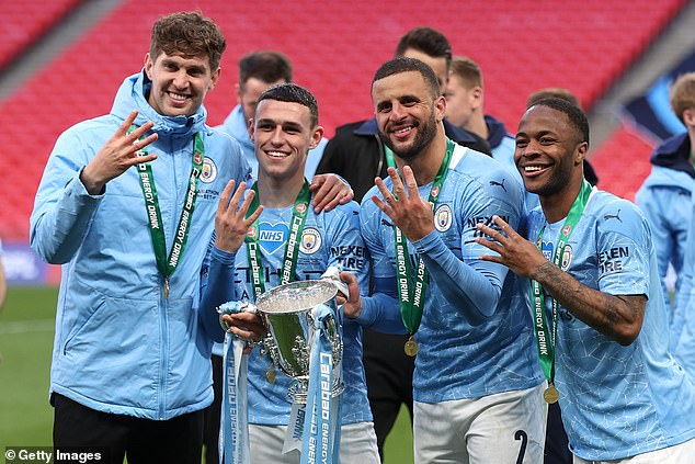 The midfielder was in fine form as he helped Manchester City win the Carabao Cup