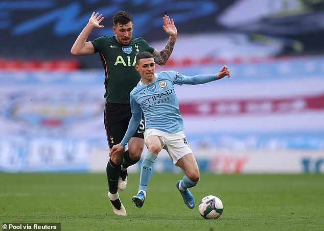 Richards claimed Foden 'plays like he is playing in the playground with his friends'