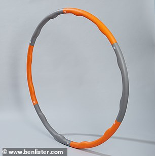 Therapy In Motion Adjustable Weight Wave Hula Hoop, £34.99, vivomed.com