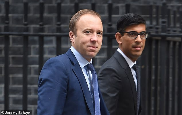 Matt Hancock, who had always been in favour of more draconian restrictions, made it three to one against the PM