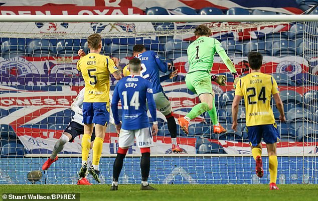 Clarke set up a goal for Chris Kane late on St Johnstone equalised in incredible circumstances