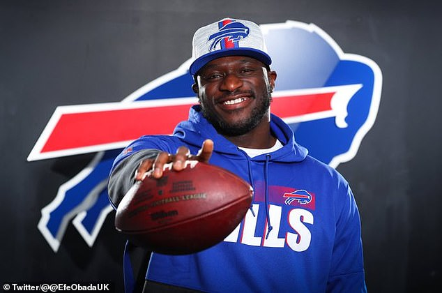 Efe Obada bade farewell to Carolina and starts a new chapter in his life with the Buffalo Bills
