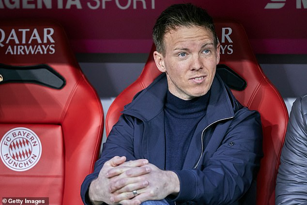 Nagelsmann will replace Hansi Flick as boss of the Bundesliga giants ahead of next season