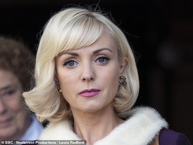 The suavely suited director of the Lady Emily Clinic in fashionable Mayfair was ladling compliments over Nurse Trixie (Helen George, pictured) as Call The Midwife (BBC1) continued its foray into the refined world of Up West