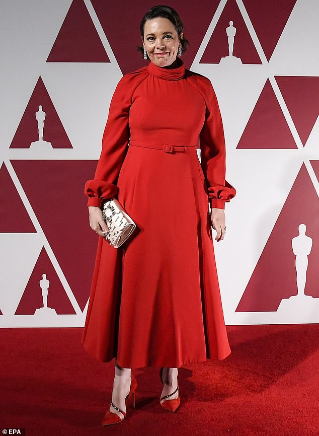 My Favourite night: Olivia Colman at London screening