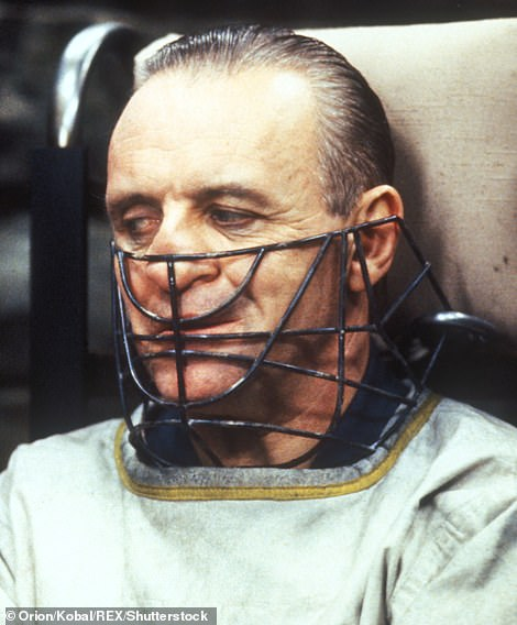 Unforgettable: He clinched the same award in 1992, for his timeless role as flesh-eating serial killer Hannibal Lecter in The Silence Of The Lambs (pictured)