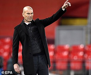 Zinedine Zidane is searching for a fourth Champions League title with Real Madrid