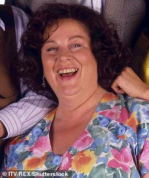 Original: Pam Ferris as Ma Larkin pictured in 1992