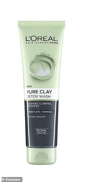 L'Oréal Paris Pure Clay Charcoal Detox Face Wash now£2.95 (originally £5.99 for 150ml)