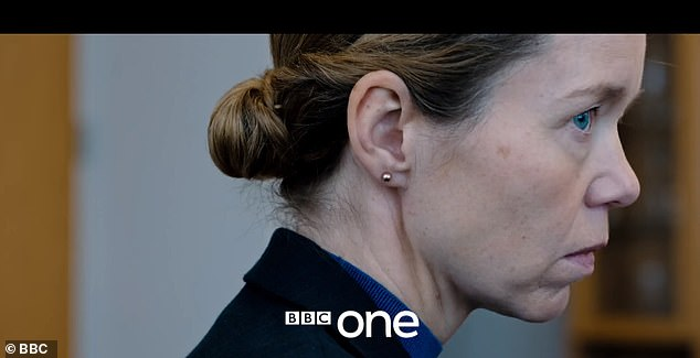 Corrupt? Partricia Carmichael will also return after her suspicious behaviour during the interview on the last episode