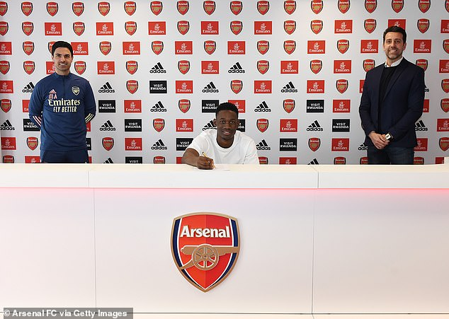 The Gunners have already secured the future of 19-year-old striker Folarin Balogun