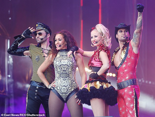 The eight-hour concert will include performances from the Vengaboys (Pictured June 2015)