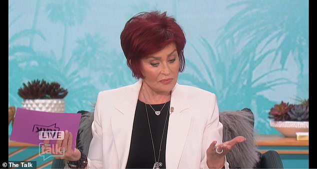 Throwback:Earlier this month, Sharon sat down for her first interview following her forced exit from The Talk after defending Piers over his Meghan remarks
