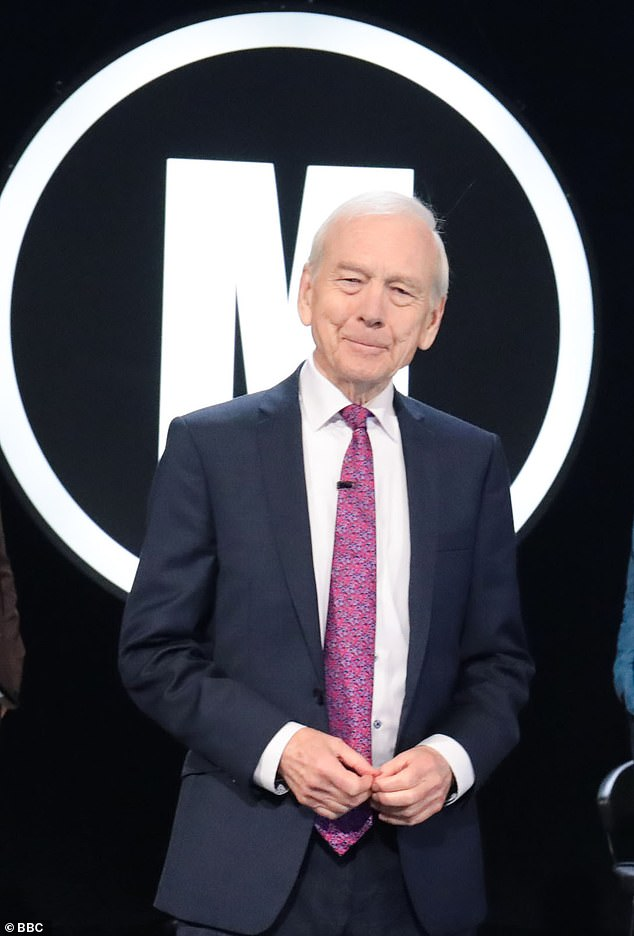 Even before the questions begin on Mastermind, there's a flicker of sadistic relish in the Welshman's gaze