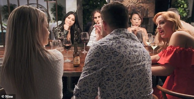 Drama: During their final dinner party on MAFS, Jules sensationally branded Martha a 'mean girl' and accused her of acting immaturely on the show