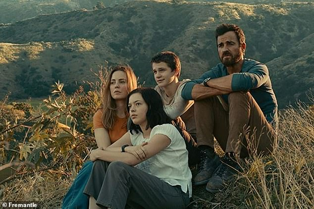 And updated:The new iteration featuring Justin costars Melissa George, Logan Polish, Gabriel Bateman and Kimberly Elise (not pictured)