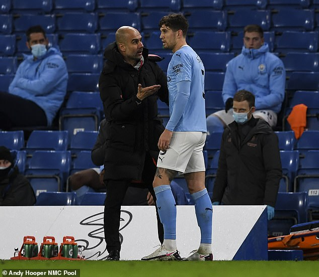 Pep Guardiola has reguarly praised the centre back for his performances this season