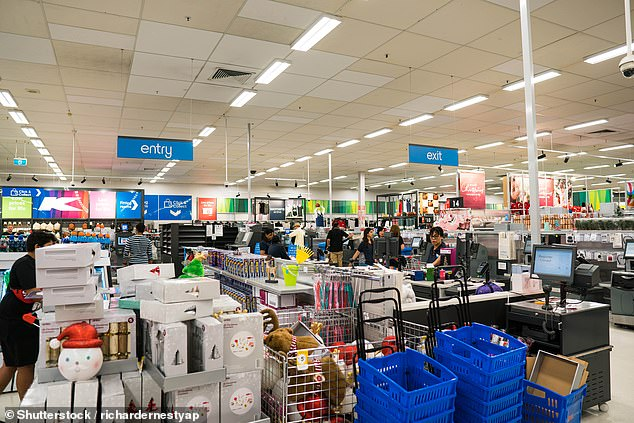 A Sydney Kmart shopper has said the store is encouraging customers to splurge on more items through their 'impulse buy' sections