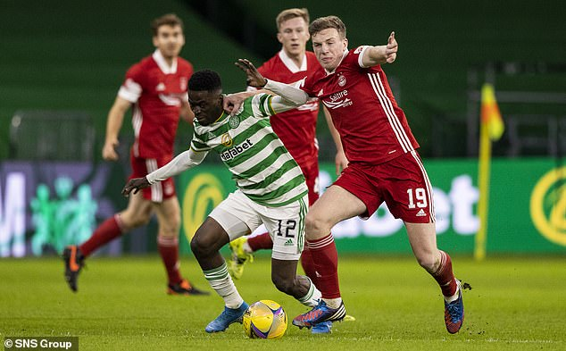 Ismaila Soro has made 20 appearances this season following his £2.7m move to Celtic