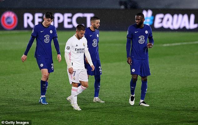 The Blues took a Champions League semi-final away goal back for Stamford Bridge next week