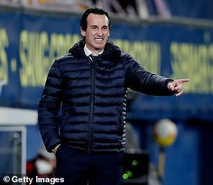 Unai Emery is looking to win a fourth Europa League trophy